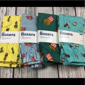 Old Navy Mens Large 36-38 Set Of 4 Boxers